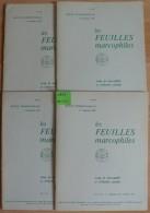 Les Feuilles Marcophiles - Année 1975 - 4 Numéros 199 à 203 - Frais De Port 2.50 Euros - Littérature