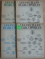 Les Feuilles Marcophiles - Année 1982 - 4 Numéros 228 à 231 - Frais De Port 2.50 Euros - Littérature