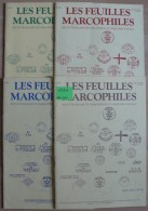 Les Feuilles Marcophiles - Année 1990 - 4 Numéros 260 à 263 - Frais De Port 2.50 Euros - Littérature