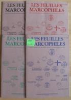 Les Feuilles Marcophiles - Année 1991 - 4 Numéros 264 à 267 - Frais De Port 2.50 Euros - Littérature
