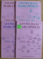 Les Feuilles Marcophiles - Année 1992 - 4 Numéros 268 à 271 - Frais De Port 2.50 Euros - Littérature