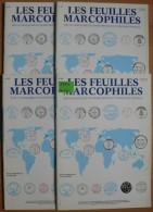 Les Feuilles Marcophiles - Année 1994 - 4 Numéros 276 à 279 - Frais De Port 2.50 Euros - Littérature