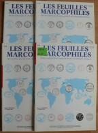 Les Feuilles Marcophiles - Année 1996 - 4 Numéros 284 à 287 - Frais De Port 2.50 Euros - Littérature