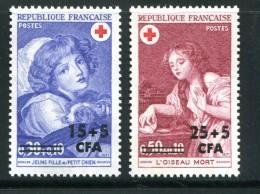 REUNION- Y&T N°404 Et 405- Neufs Sans Charnière ** - Unused Stamps