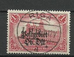 German Occupation Ober-Ost 1918 Michel 12 Latvia O RIGA Perfect Cancel - Letland