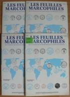 Les Feuilles Marcophiles - Année 1998 - 4 Numéros 292 à 295 - Frais De Port 2.50 Euros - Littérature