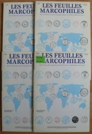 Les Feuilles Marcophiles - Année 2001 - 4 Numéros 304 à 307 - Frais De Port 2.50 Euros - Littérature