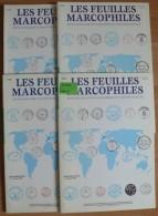 Les Feuilles Marcophiles - Année 2002 - 4 Numéros 308 à 311 - Frais De Port 2.50 Euros - Littérature