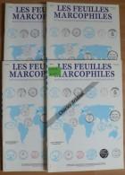 Les Feuilles Marcophiles - Année 2003 - 4 Numéros 312 à 315 - Frais De Port 2.50 Euros - Littérature
