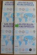 Les Feuilles Marcophiles - Année 2004 - 4 Numéros 316 à 319 - Frais De Port 2.50 Euros - Littérature