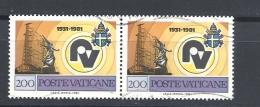 Vaticano    1981 The 50th Anniversary Of Radio Vatican Used Yvert 704 - Vaticano (Ciudad Del)