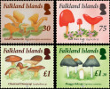 Falkland Islands 2014 Mushrooms 4v MNH - Champignons