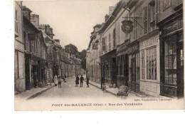 60----PONT-SAINTE MAXENCE---rue Des Vendredis----voir 2 Scans - Pont Sainte Maxence