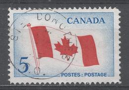 Canada 1965, Scott #439 Canada's Maple Leaf Flag (U) - 1952-.... Règne D'Elizabeth II
