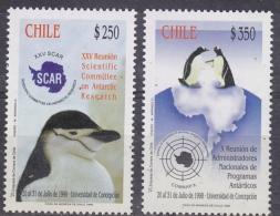 Chile 1998 Antarctica / SCAR 2v ** Mnh (28887) - Chili