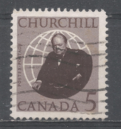 Canada 1965, Scott #440 Sir Winston Spencer Churchill (1874-1965) (U) - 1952-.... Règne D'Elizabeth II