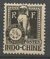 INDOCHINE TAXE  N°  31   NEUF** SANS  CHARNIERE  / MNH - Postage Due