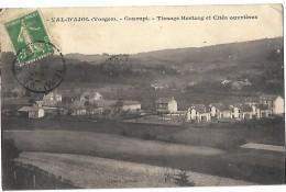 88 Val D'Ajol Courupt TISSAGE Hertzog Et Cités Ouvrières  CPA 1914 - France
