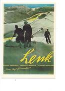 15101 - Lenk Plakat Für Funi Zirka 1946 Ernst Boccheti Skieurs  (Reproduction D'affiche Format 10X15) - BE Bern