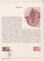 Document Philatélique 1er Jour Paris 27.11.76 N°1912 La Douane - Documentos Del Correo