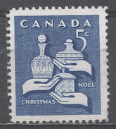 Canada 1965, Scott #444 Christmas: Gifts Of The Wise Men (U) - 1952-.... Règne D'Elizabeth II