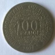 Afrique De L´Ouest - 100 Frs - 1974 - - Coins