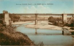 Dép 30 - Alès - Alais - Environs D'Alès - Le Pont De La Royale - état - Alès