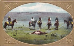 Cowboys Roping A Cow - Altri