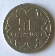 Monnaies - Banque Des Etats De L´Afrique Centrale - 50 Francs 1976 - TTB  - - Coins