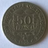 Afrique De L´Ouest - 50 Frs - 1975 - - Monnaies