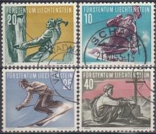 Liechtenstein 1955 Nº 296/99 Usado - Liechtenstein