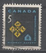 Canada 1966, Scott #447 Traffic Signs (U) - 1952-.... Règne D'Elizabeth II