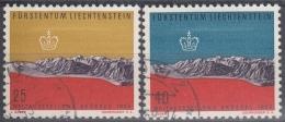 Liechtenstein 1958 Nº 331/32 Usado - Liechtenstein
