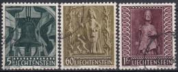 Liechtenstein 1959 Nº 350/52 Usado - Liechtenstein