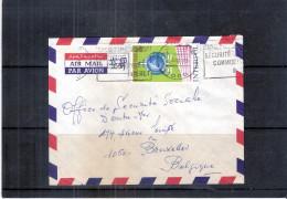 Police - Interpol - Lettre Du Togo Vers Belgique (à Voir Recto-verso) - Police - Gendarmerie