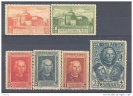 ES559-A536TCSC.PERSONAJES.. España.Spain.  Espagne.DESCUBRIMIENTO  DE AMERICA.Colon.1930.(Ed 559/68*) Con Charnela. - 1889-1931 Reino: Alfonso XIII