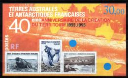 TGC/ TAAF Terres Australes BF 2  Neuf  XX  MNH , Cote :  14,50 € , Album 12 - Blocs-feuillets