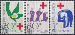 Liechtenstein 1963 Nº 378/80 Usado - Gebraucht