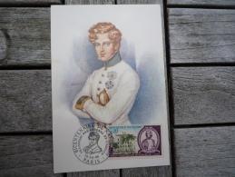 Carte Postale Maximum Affranchie Napoléon Bonaparte Oblitération Bicentenaire Paris 1969 - 1960-69