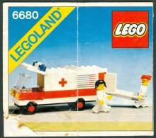 LEGO - 6680 INSTRUCTION MANUAL - Original Lego 1981 - Vintage - Catalogs