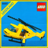 INSTRUCTION MANUAL - LEGO - 6697 - Original Lego 1985 - Vintage - Catalogues