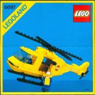 LEGO - 6697 INSTRUCTION MANUAL - Original Lego 1985 - Vintage - Catalogs
