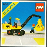 INSTRUCTION MANUAL - LEGO - 6678 - Original Lego 1980 - Vintage - Catalogs