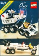 INSTRUCTION MANUAL - LEGO - 6770 - Original Lego 1988 - Vintage - Catalogues