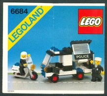 INSTRUCTION MANUAL - LEGO - 6684 - Original Lego 1983 - Vintage - Catalogues