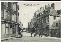 CPA - 76 - MONTIVILLIERS - La Rue Oscar Germain - - Montivilliers