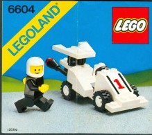 INSTRUCTION MANUAL - LEGO - 6604 - Original Lego 1985 - Vintage - Catalogs