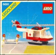 LEGO - 6691 INSTRUCTION MANUAL - Original Lego 1981 - Vintage - Catalogs