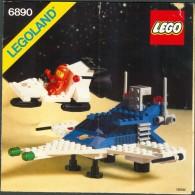 LEGO - 6890 INSTRUCTION MANUAL - Original Lego 1982 - Vintage - Catalogs
