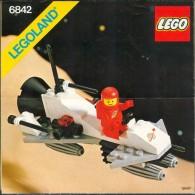 LEGO - 6842 INSTRUCTION MANUAL - Original Lego 1981 - Vintage - Catalogs